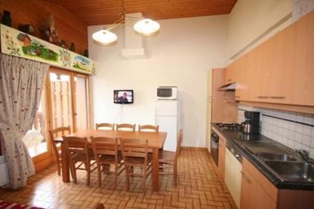 Rent in ski resort 4 room duplex apartment 8 people (6) - Résidence le Balcon des Alpes - Châtel - Kitchenette