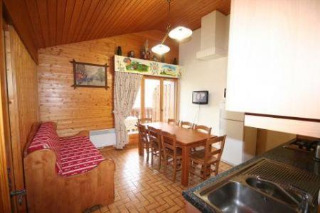 Rent in ski resort 4 room duplex apartment 8 people (6) - Résidence le Balcon des Alpes - Châtel - Living room