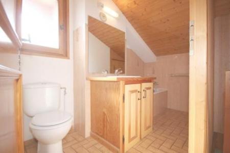 Rent in ski resort 4 room duplex apartment 8 people (6) - Résidence le Balcon des Alpes - Châtel - Shower room