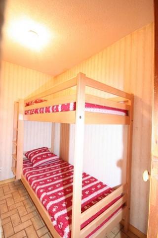 Rent in ski resort Studio sleeping corner 4 people (8) - Résidence le Balcon des Alpes - Châtel - Bunk beds