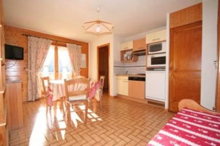Rent in ski resort Studio sleeping corner 4 people (8) - Résidence le Balcon des Alpes - Châtel - Living room