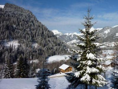 Location Châtel : Residence Le Blanchot hiver