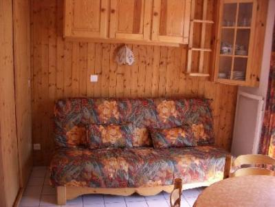 Rent in ski resort 1 room apartment 4 people (10) - Résidence le Bouquetin - les Jonquilles - Châtel - Bed-settee