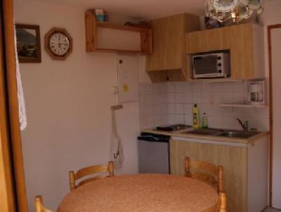 Rent in ski resort 1 room apartment 4 people (10) - Résidence le Bouquetin - les Jonquilles - Châtel - Kitchenette