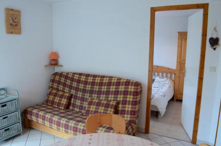 Rent in ski resort 2 room apartment sleeping corner 5 people (1) - Résidence le Bouquetin - les Jonquilles - Châtel - Sofa-bed