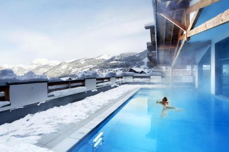Vacances en montagne Résidence le Grand Ermitage - Châtel - Extérieur hiver