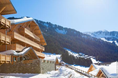 Location au ski Residence Le Grand Ermitage - Chatel - Extérieur hiver