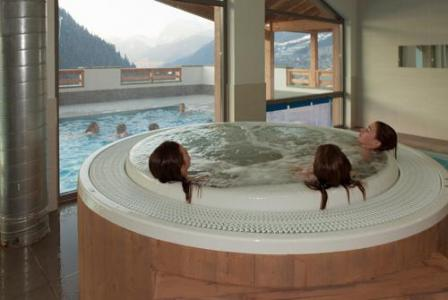 Location au ski Residence Le Grand Ermitage - Chatel - Jacuzzi