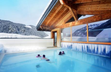 Location au ski Résidence le Grand Lodge - Châtel - Extérieur hiver