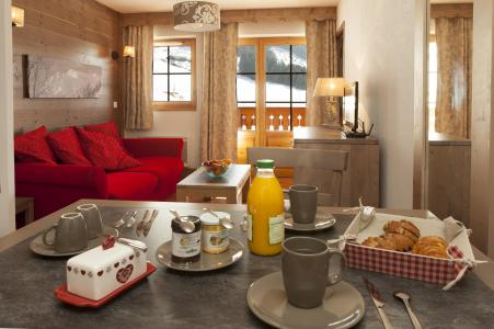 Location au ski Residence Le Grand Lodge - Chatel - Coin repas