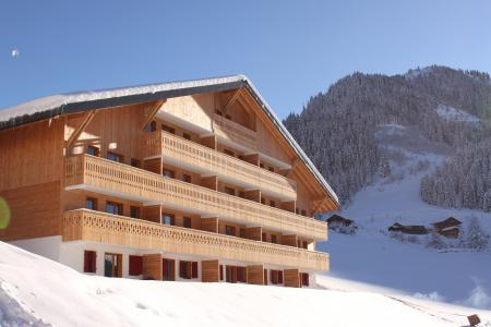 Location au ski Residence Le Grand Lodge - Chatel - Extérieur hiver
