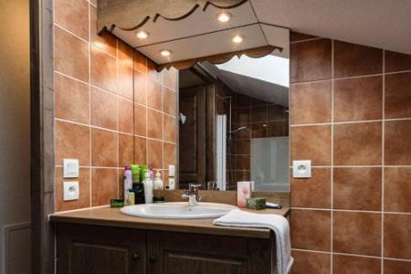 Location au ski Residence Le Grand Lodge - Chatel - Lavabo