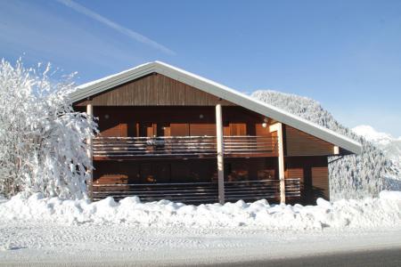 Location au ski Résidence le Joran - Châtel - Extérieur hiver