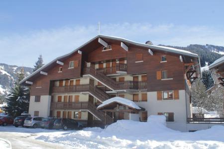 Location au ski Résidence le Mermy - Châtel - Extérieur hiver