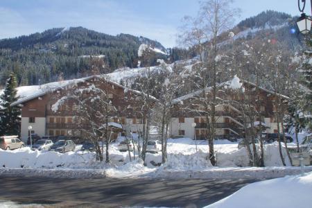 Vacances en montagne Résidence le Mermy - Châtel - Extérieur hiver