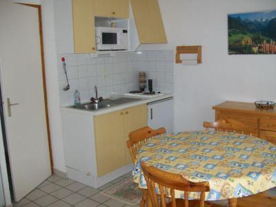 Rent in ski resort Studio sleeping corner 3 people (4) - Résidence le Mouflon - les Jonquilles - Châtel - Kitchenette