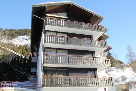 Location au ski Résidence le Sylvia - Châtel - Extérieur hiver