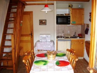 Rent in ski resort 2 room mezzanine apartment 5 people (17A) - Résidence le Terroit - Châtel - Kitchenette