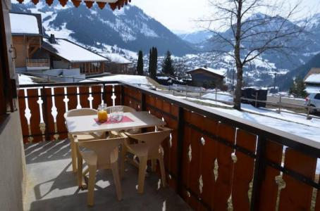 Rent in ski resort Studio 4 people - Résidence le Terroit - Châtel - Apartment