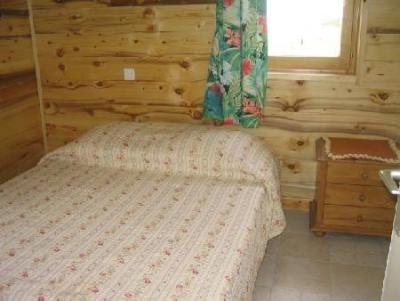 Rent in ski resort 2 room apartment 5 people (A4) - Résidence le Val Pierre - Châtel - Double bed