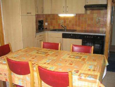 Rent in ski resort 2 room apartment 5 people (A4) - Résidence le Val Pierre - Châtel - Kitchenette