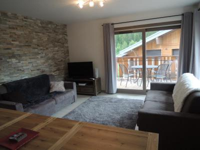 Rent in ski resort 3 room apartment sleeping corner 6 people (A14) - Résidence les 4 Eléments - Châtel - Settee