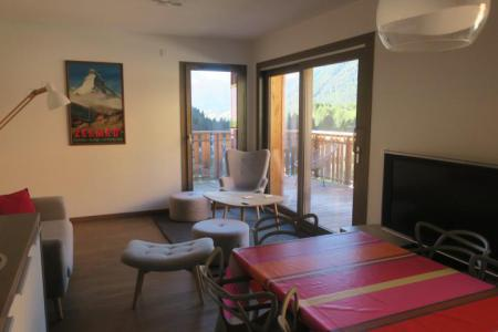 Rent in ski resort 3 room apartment sleeping corner 6 people (B205) - Résidence les 4 Eléments - Châtel - Dining area