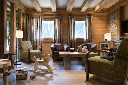 Location au ski Résidence les Chalets d'Angèle - Châtel - Réception