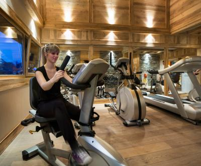 Location au ski Residence Les Chalets D'angele - Chatel - Espace fitness