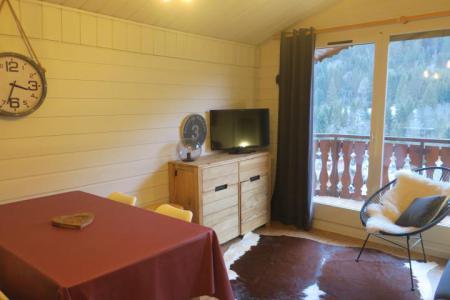 Location au ski Appartement 2 pièces 5 personnes (B24) - Résidence les Chalets de Perthuis - Châtel - Canapé