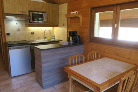 Location au ski Appartement 2 pièces 6 personnes (A18) - Résidence les Chalets de Perthuis - Châtel - Coin repas