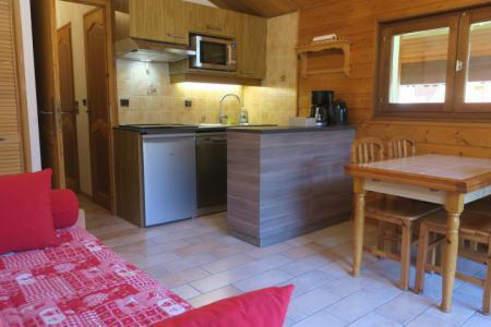 Location au ski Appartement 2 pièces 6 personnes (A18) - Résidence les Chalets de Perthuis - Châtel - Séjour