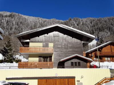 Rent in ski resort Studio sleeping corner 3 people (D) - Résidence les Covillets - Châtel