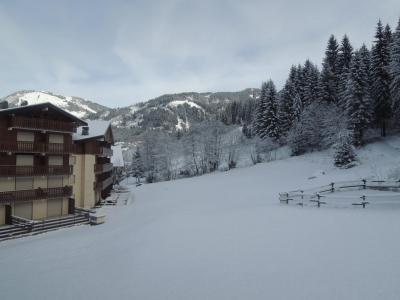 Vacances en montagne Appartement 2 pièces cabine 6 personnes (9) - Résidence les Myrtilles - Châtel - Extérieur hiver