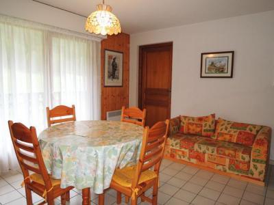 Location au ski Appartement 3 pièces 5 personnes (18) - Résidence les Myrtilles - Châtel - Lit d'appoint 1 personne