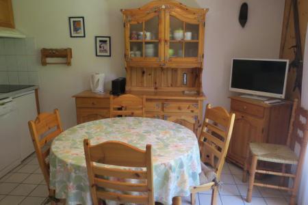 Location au ski Appartement 3 pièces 5 personnes (18) - Résidence les Myrtilles - Châtel - Table