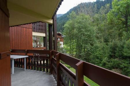 Rent in ski resort 2 room apartment cabin 5 people (PRA006) - Résidence les Praz - Châtel - Balcony