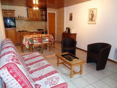 Rent in ski resort 2 room apartment 5 people (RHO307) - Résidence les Rhododendrons - Châtel - Living room