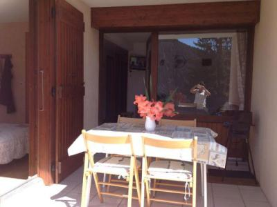 Rent in ski resort 2 room apartment sleeping corner 5 people (002) - Résidence les Sorbiers - Châtel - Terrace