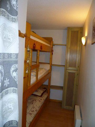 Rent in ski resort 2 room apartment sleeping corner 5 people (004) - Résidence les Sorbiers - Châtel - Sleeping area