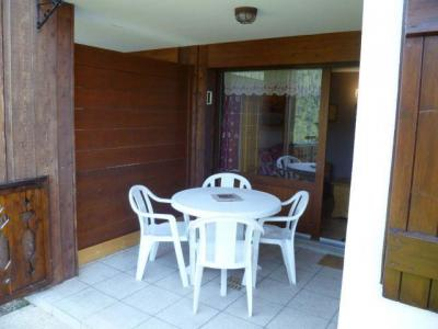 Rent in ski resort 2 room apartment sleeping corner 5 people (004) - Résidence les Sorbiers - Châtel - Terrace