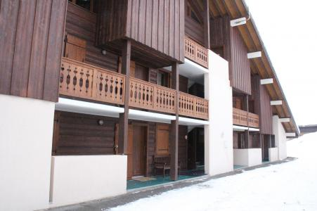 Rent in ski resort 3 room apartment 6 people (009) - Résidence les Sorbiers - Châtel - Winter outside