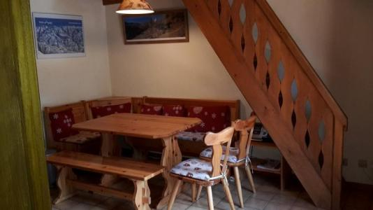Rent in ski resort 2 room mezzanine apartment 5 people (15B) - Résidence les Voinettes - Châtel - Dining area