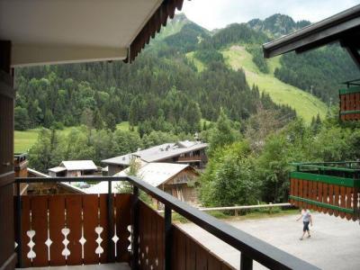 Rent in ski resort Studio cabin 4 people (06B) - Résidence les Voinettes - Châtel