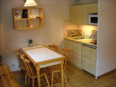 Rent in ski resort Studio cabin 4 people (06B) - Résidence les Voinettes - Châtel - Dining area