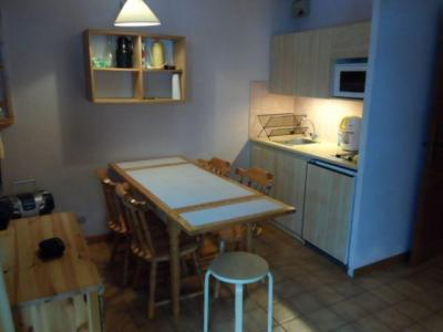 Rent in ski resort Studio cabin 4 people (06B) - Résidence les Voinettes - Châtel - Kitchenette