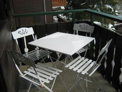 Location au ski Studio cabine 4 personnes (28A) - Résidence les Voinettes - Châtel - Balcon