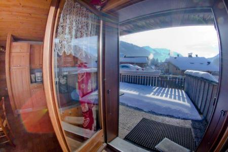 Rent in ski resort 3 room apartment 7 people (CAN004) - Résidence Lou Candres - Châtel - Balcony