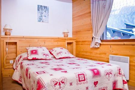 Rent in ski resort 3 room apartment 7 people (CAN004) - Résidence Lou Candres - Châtel - Double bed