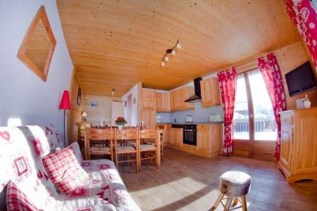 Rent in ski resort 3 room apartment 7 people (CAN004) - Résidence Lou Candres - Châtel - Table